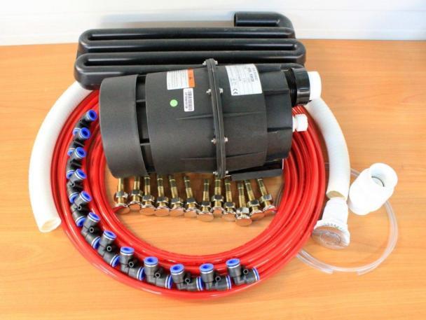 Jacuzzi - vzduchový masážní systém 12 trysek - Holandský výrobce